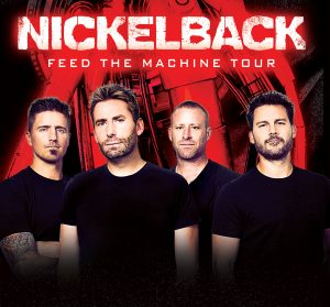 Mohegan Sun Arena Welcomes Back Rock Band Nickelback Live Thursday